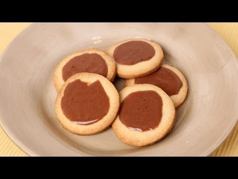 Butter Cookies with Chocolate Glaze Recipe – Laura Vitale – Laura in the Kitchen Episode 455