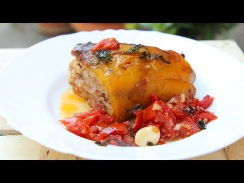 Nonna's Stuffed Peppers Recipe – Laura Vitale – Laura in the Kitchen Episode 634