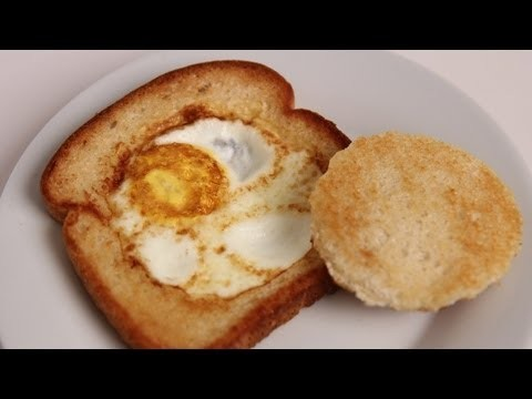 Egg in a Basket – Recipe – Laura Vitale – Laura in the Kitchen Episode 405