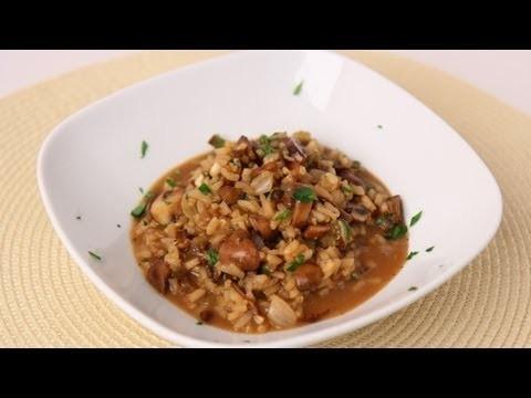 Mushroom Risotto Recipe – Laura Vitale – Laura in the Kitchen Episode 466