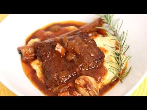 Braised Short Ribs Recipe – Laura Vitale – Laura in the Kitchen Episode 654