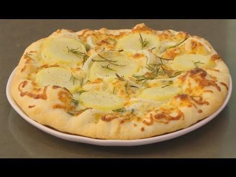 Potato & Onion Pizza with Laura Vitale & Eric Ripert