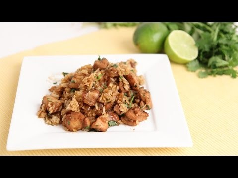 Cilantro & Lime Chicken & Rice Recipe – Laura Vitale – Laura in the Kitchen Episode 814
