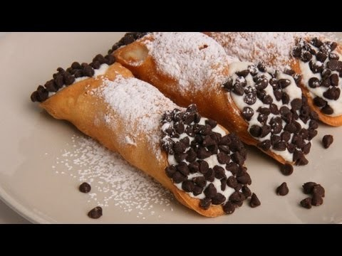 Homemade Cannoli Recipe – Laura Vitale – Laura in the Kitchen Episode 349