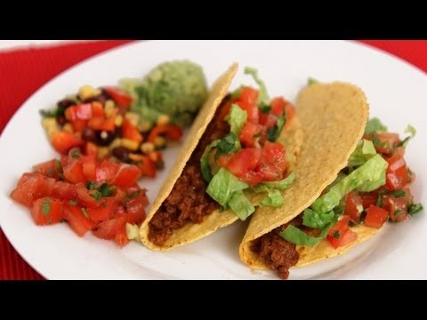 American Ground Beef Tacos Recipe – Laura Vitale – Laura in the Kitchen Episode 571