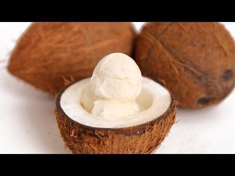 Coconut Ice Cream Recipe – Laura Vitale – Laura in the Kitchen Episode 589