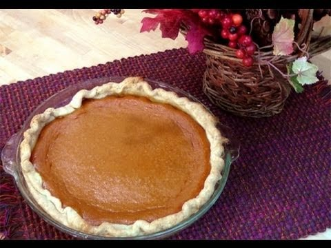 How to Make Homemade Pumpkin Pie from Scratch – Recipe Laura In The Kitchen Episode 63