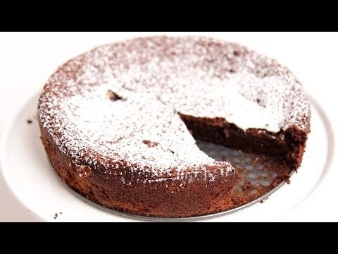 Homemade Flourless Chocolate Cake Recipe – Laura Vitale – Laura in the Kitchen Episode 775