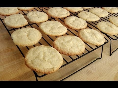 How to make Vanilla Sugar Cookies – Recipe by Laura Vitale – Laura in the Kitchen Ep 104