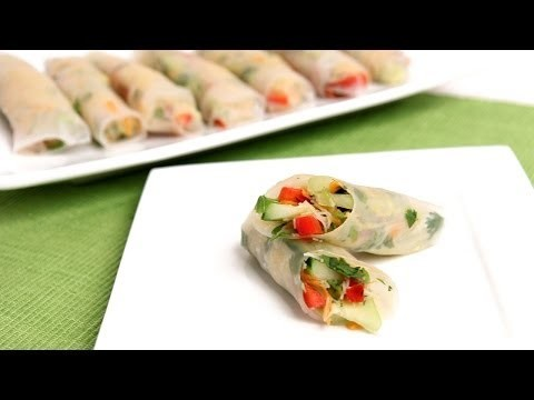 Homemade Summer Rolls Recipe – Laura Vitale – Laura in the Kitchen Episode 774