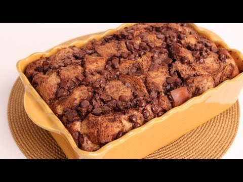Chocolate Bread Pudding Recipe – Laura Vitale – Laura in the Kitchen Episode 337