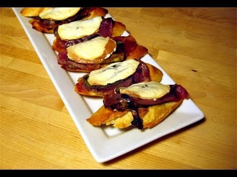 "Asparagus & Prosciutto Bruschetta Recipe – Laura Vitale ""Laura In The Kitchen"" Episode 21"