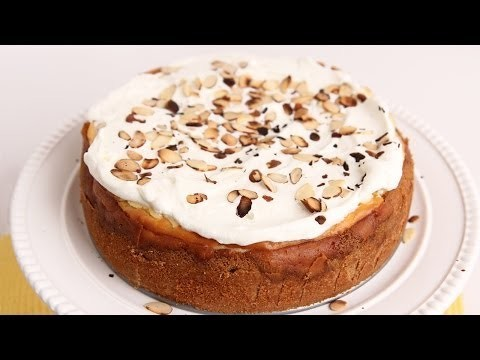 Amaretti Cheesecake Recipe – Laura Vitale – Laura in the Kitchen Episode 695