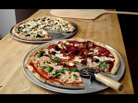 How to make Homemade Pizza From Scratch – Recipe by Laura Vitale – Laura in the Kitchen Ep. 86