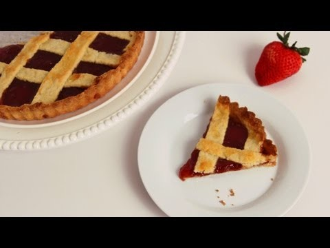 Strawberry Jam Tart Recipe – Laura Vitale – Laura in the Kitchen Episode 568