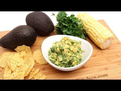 Grilled Corn Guacamole Recipe – Laura Vitale – Laura in the Kitchen Episode 780