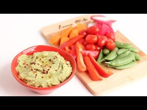 Homemade Avocado Hummus Recipe – Laura Vitale – Laura in the Kitchen Episode 802