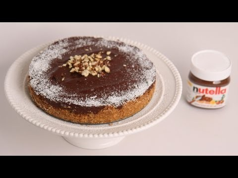 No Bake Nutella Cheesecake Recipe – Laura Vitale – Laura in the Kitchen Episode 500