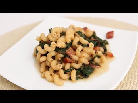 Swiss Chard Pasta Recipe – Laura Vitale – Laura in the Kitchen Episode 698