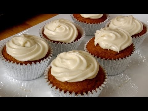 Pumpkin Cupcakes – Recipe by Laura Vitale – Laura in the Kitchen Episode 202