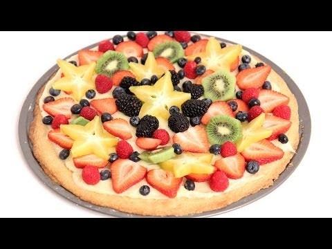 Dessert Pizza Recipe – Laura Vitale – Laura in the Kitchen Episode 760