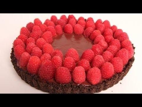 Chocolate Raspberry Tart Recipe – Laura Vitale – Laura in the Kitchen Episode 317