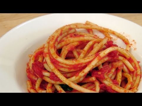 Pasta alla Amatriciana – Recipe by Laura Vitale – Laura in the Kitchen Episode 132