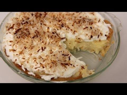 Coconut Cream Pie Recipe – Laura Vitale – Laura in the Kitchen Episode 447
