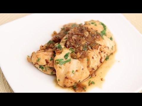 Honey Mustard Sauteed Chicken Recipe – Laura Vitale – Laura in the Kitchen Episode 715
