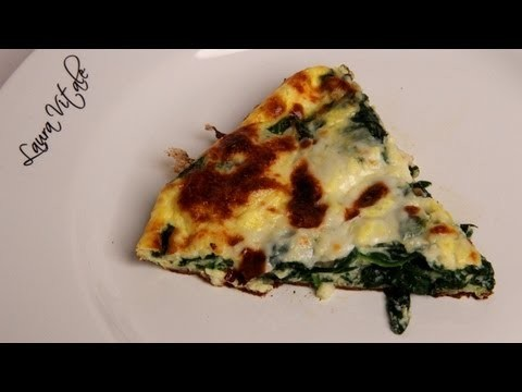 Spinach Frittata Recipe – Laura Vitale – Laura in the Kitchen Episode 320