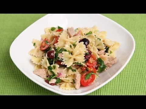 Italian Tuna Pasta Salad Recipe – Laura Vitale – Laura in the Kitchen Episode 757