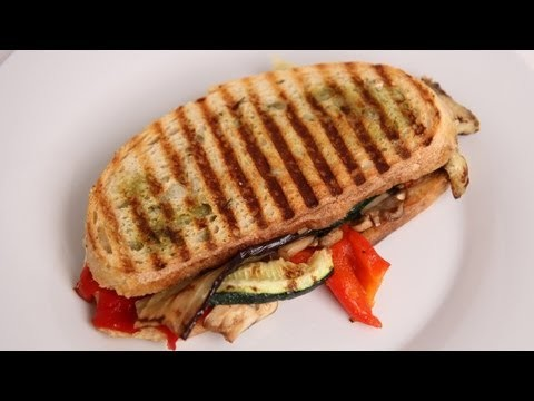 Grilled Veggie Panini Recipe – Laura Vitale – Laura in the Kitchen Episode 392