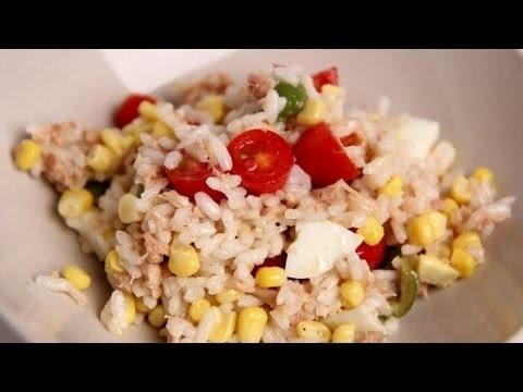 Italian Tuna & Rice Salad Recipe – Laura Vitale – Laura in the Kitchen Episode 406