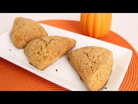 Pumpkin Scones Recipe – Laura Vitale – Laura in the Kitchen Episode 661
