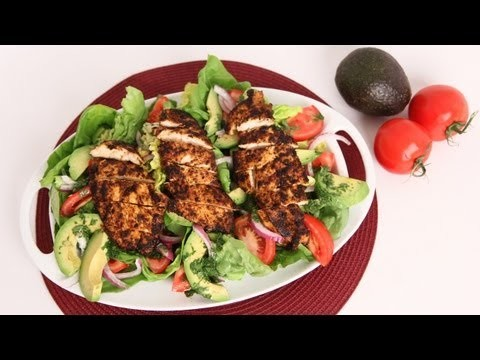 Spicy Grilled Chicken Salad with Avocado – Laura Vitale – Laura in the Kitchen Episode 595