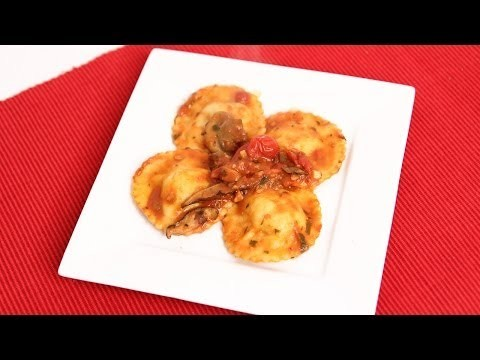 Homemade Lobster Ravioli Recipe – Laura Vitale – Laura in the Kitchen Episode 721