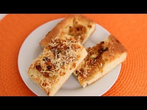 Caramelized Onion Focaccia Recipe – Laura Vitale – Laura in the Kitchen Episode 531