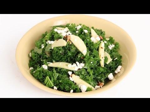 Kale Apple & Walnut Salad Recipe – Laura Vitale – Laura in the Kitchen Episode 830