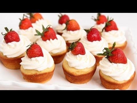 Strawberry Shortcake Cupcakes Recipe – Laura Vitale – Laura in the Kitchen Episode 753
