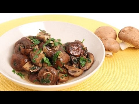 Parmesan Sauteed Mushroom Recipe – Laura Vitale – Laura in the Kitchen Episode 842
