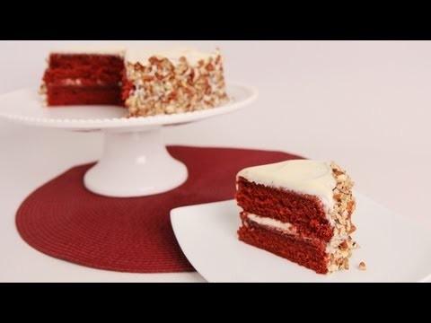 Red Velvet Cake Recipe – Laura Vitale – Laura in the Kitchen Episode 602