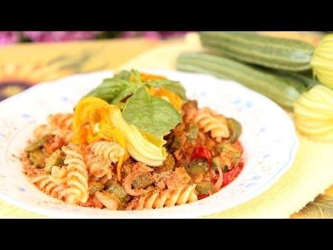 Nonna's Pasta with Zucchini & Tuna – Laura & Nonna – Laura in the Kitchen Episode