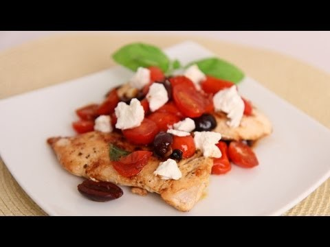 Sauteed Chicken w/ Tomatoes & Goat Cheese Recipe – Laura Vitale – Laura in the Kitchen Episode 521