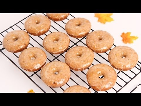 Apple Cider Baked Donuts Recipe – Laura Vitale – Laura in the Kitchen Episode 653