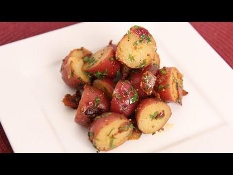 Warm Potato Salad Recipe – Laura Vitale – Laura in the Kitchen Episode 601