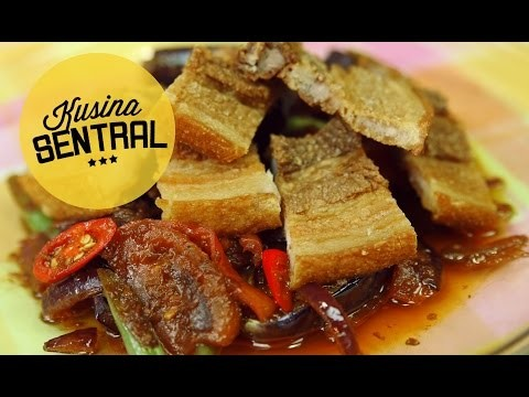 CRISPY PORK BINAGOONGAN | NEW FILIPINO COOKING CHANNEL | Kusina Sentral