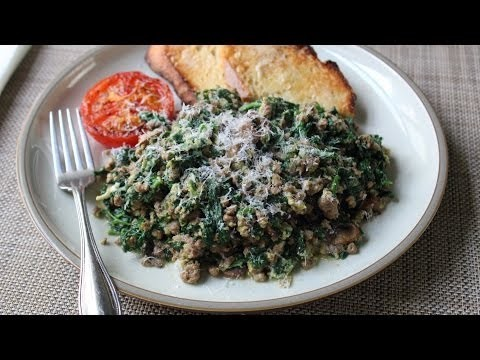 Joe's Special – Original Joe's Ground Beef & Spinach Scramble