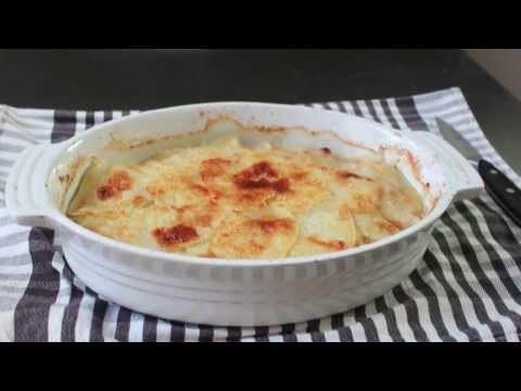 Potato & Parsnip Gratin – Baked Potato & Root Vegetable Casserole Recipe