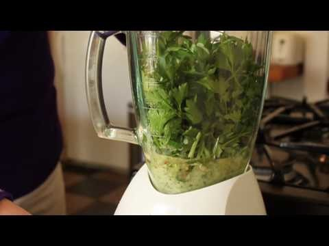 Food Wishes Recipes – Chimichurri Sauce Recipe – How to Make Chimichurri