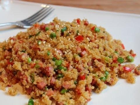 Pork-Fried Quinoa – Low-Fat Pork-Fried Rice Recipe with Quinoa